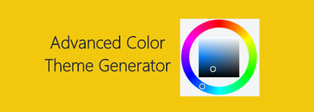 Advanced Color Theme Generator