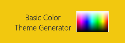Basic Color Theme Generator
