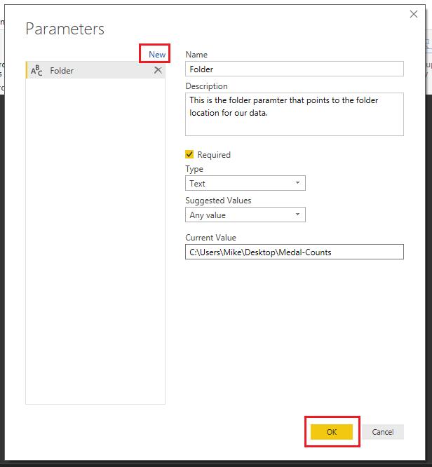 Make Parameter