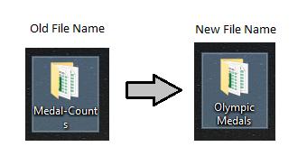 Rename File Folder