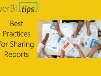 Sharing Reports